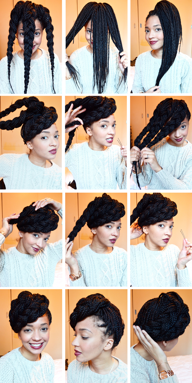 Trendy Box Braids Bun Hairstyles For 15 Box Braids Hairstyles That Rock – More (View 17 of 20)