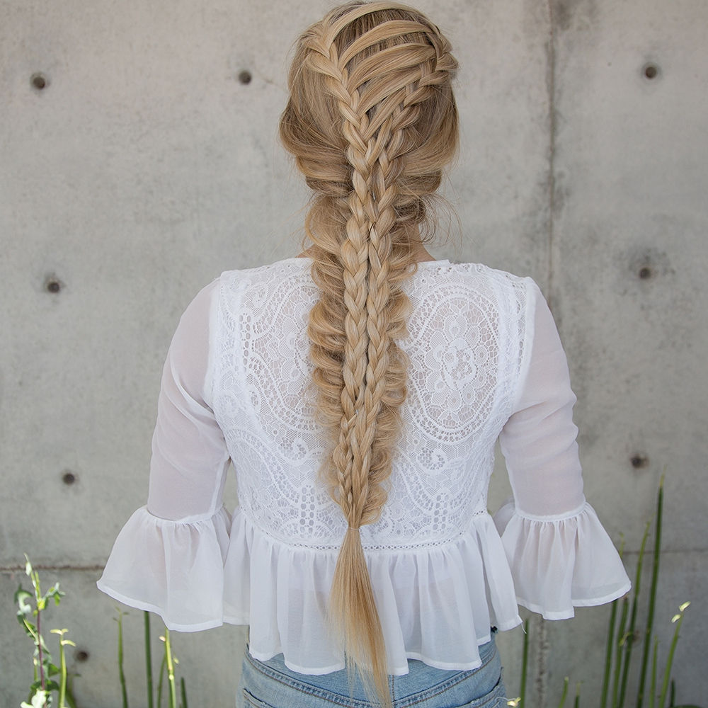 Trendy Corset Braided Hairstyles Regarding Corset Stacked Mermaid Braid — Confessions Of A Hairstylist (View 20 of 20)
