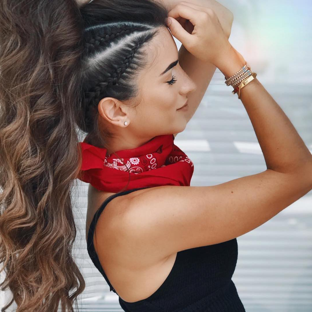 Trendy High Ponytail Braided Hairstyles Regarding 10 Modern Side Braid Hairstyles For Women – Braided Long (View 20 of 20)