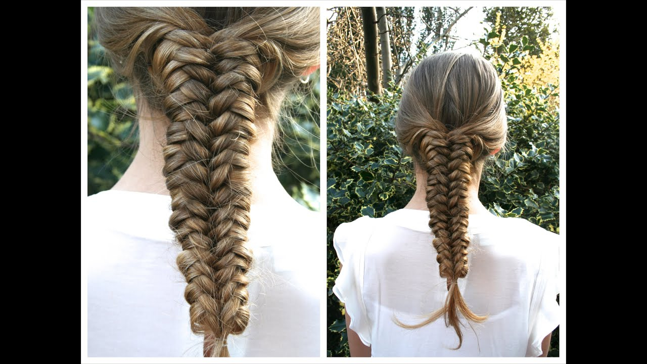 Trendy Mermaid Braid Hairstyles With A Fishtail With Regard To 5 Super Easy Mermaid Braid Tutorials (View 12 of 20)