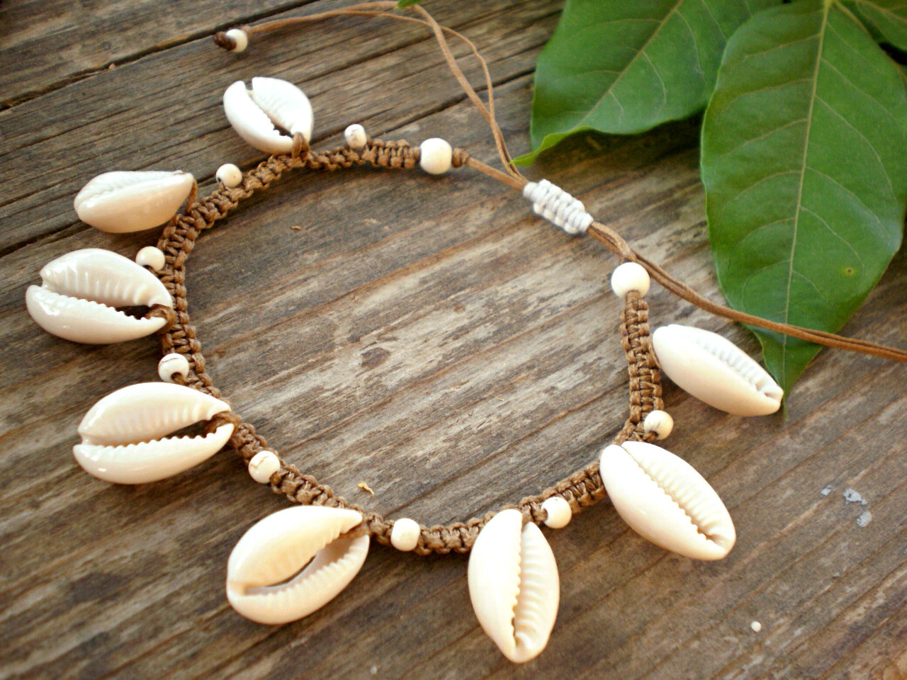 Trendy Puka Shell Beaded Braided Hairstyles Intended For Seashell Anklet, Braided Ankle Bracelet With Cowrie Sea Shells (View 15 of 20)