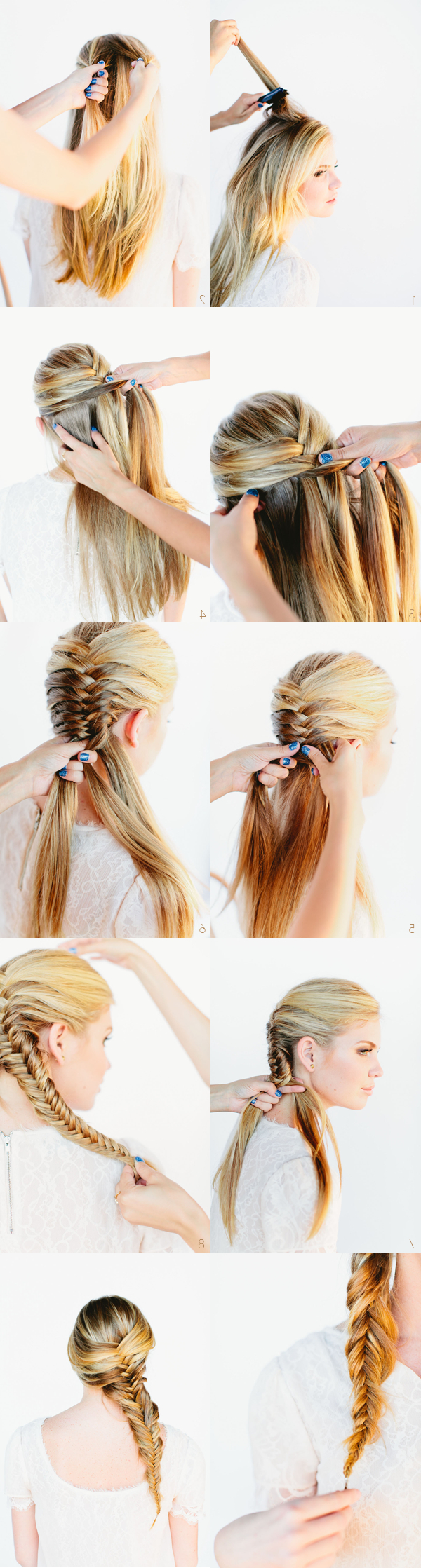 Trendy Rope And Fishtail Braid Hairstyles With Regard To Top 25 Braided Hairstyle Tutorials You'll Totally Love (Gallery 20 of 20)
