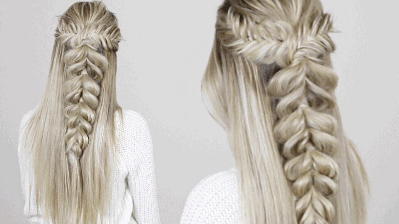 Trendy Thick And Luscious Braid Hairstyles For Say Goodbye To Bad Hair Days With These No Heat Braided (View 9 of 20)