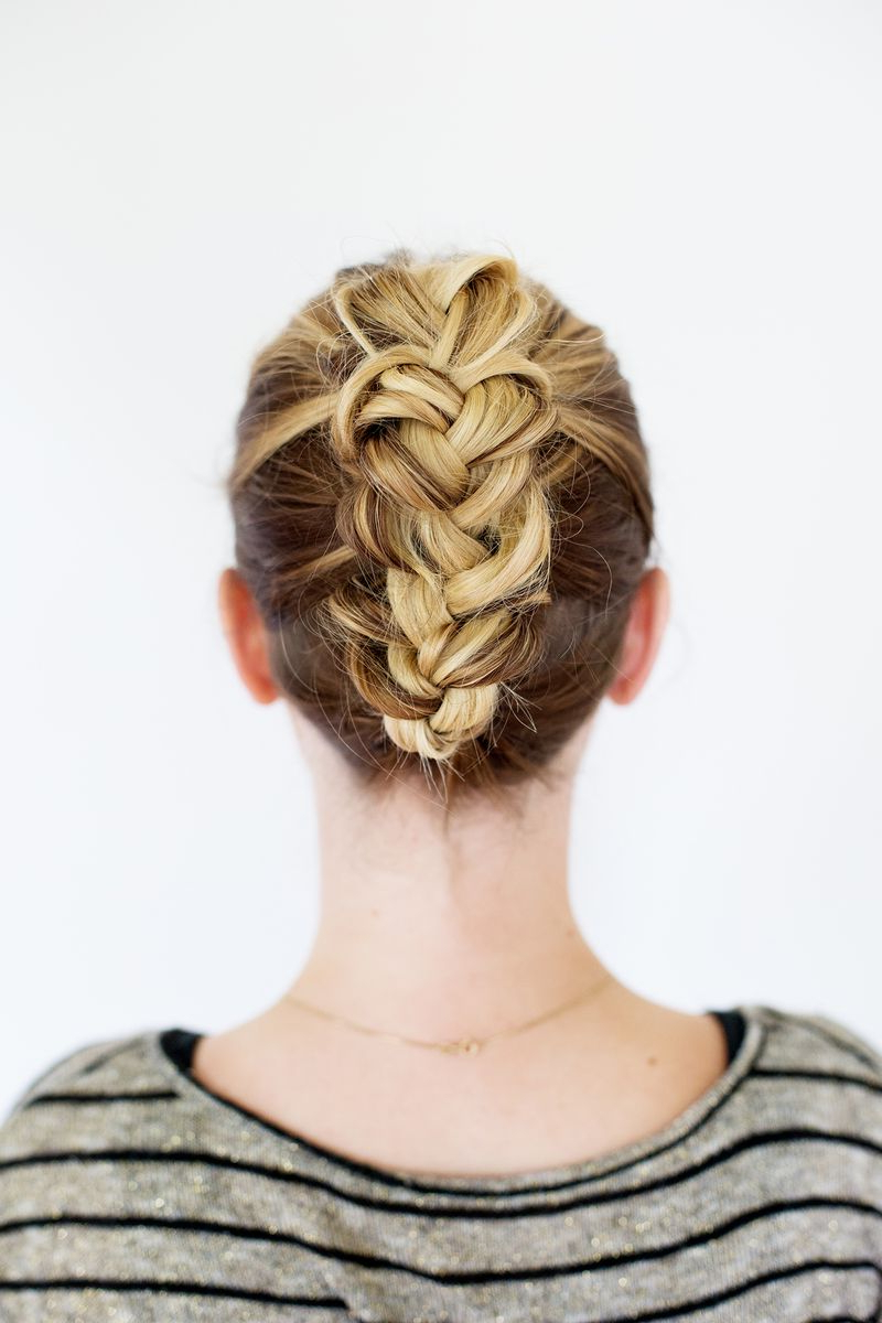 Trendy Triple Under Braid Hairstyles With A Bun With Pinterest Braids: 8 Hairstyles You'll Love (View 8 of 20)