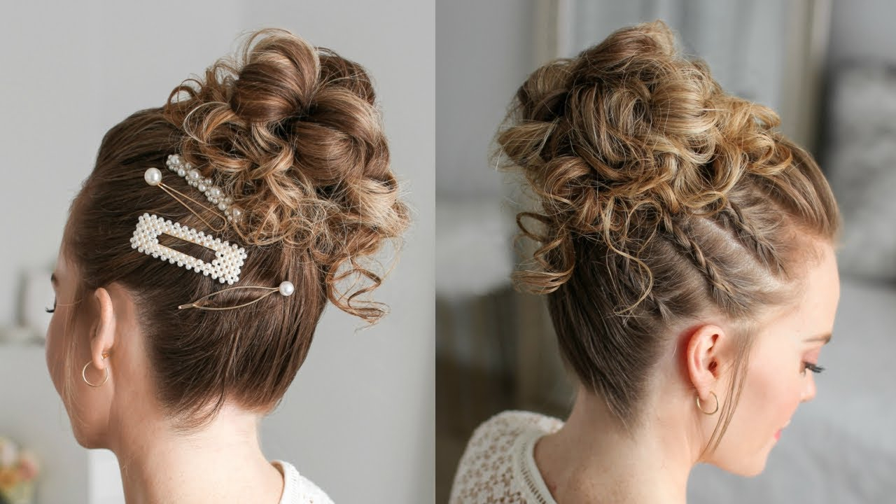 Triple Braid High Bun (View 4 of 20)