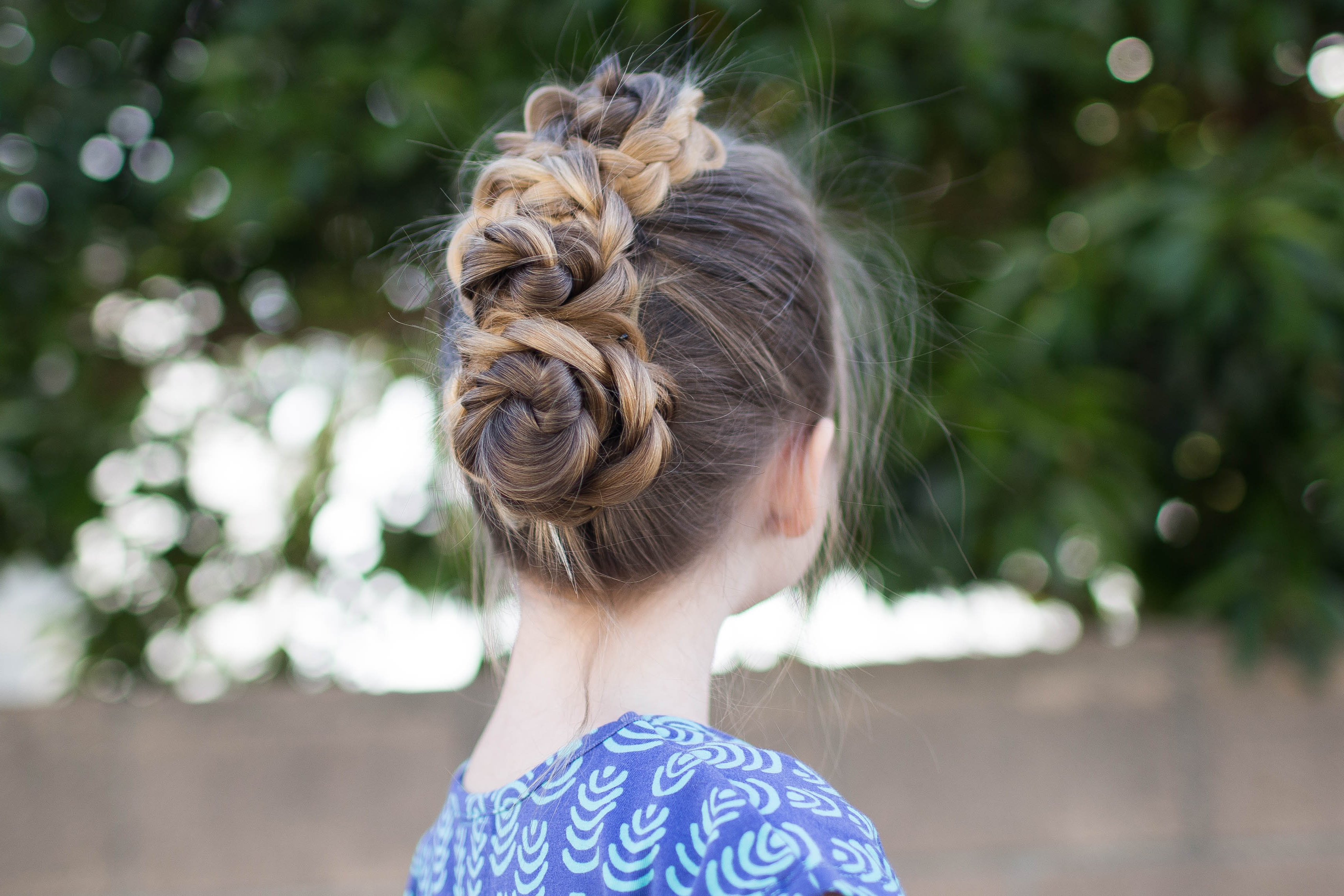 Triple Bun Updo (View 18 of 20)