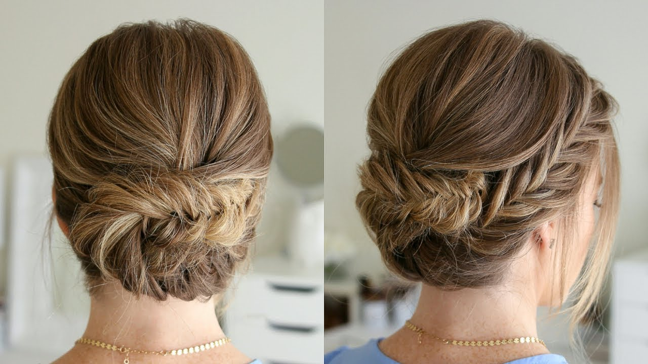 Tucked Fishtail Braid Updo (View 6 of 20)