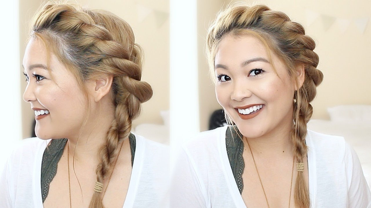 Twisted Rope Braid Hair Tutorial (Gallery 2 of 20)