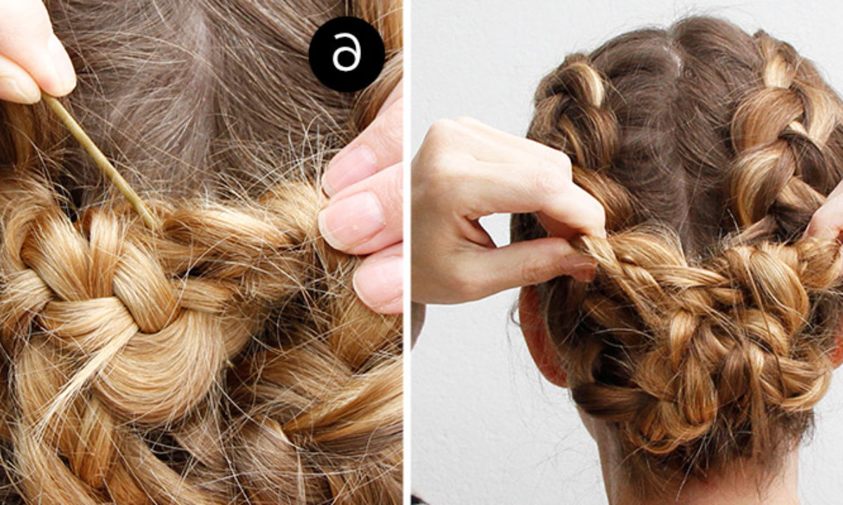 Two Dutch Braids Make One Easy Updo – More With Most Recent Dutch Braid Updo Hairstyles (Gallery 20 of 20)
