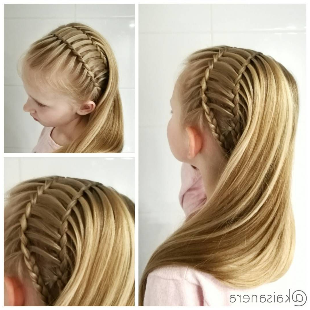Uneven French Rope Twist From Babesinhairland #hair Pertaining To Most Up To Date Intricate Rope Braid Ponytail Hairstyles (View 19 of 20)