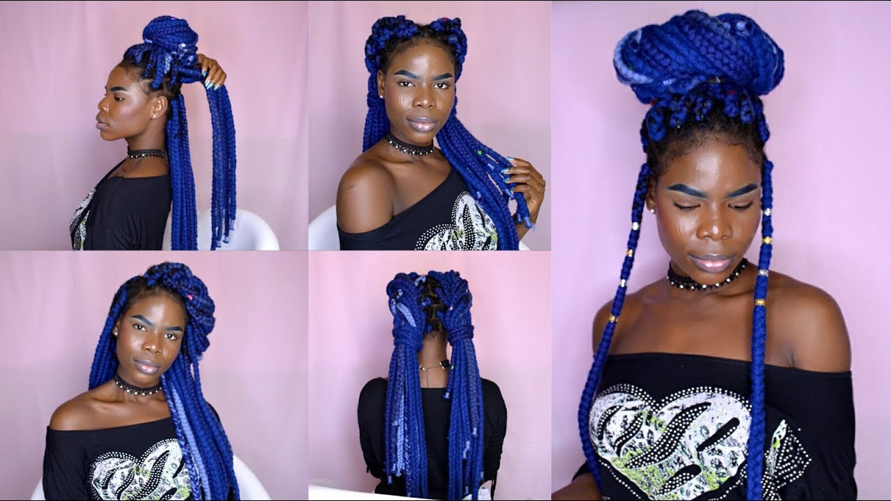Vivian Beauty And Style Pertaining To Favorite Navy Bob Yarn Braid Hairstyles (View 10 of 20)