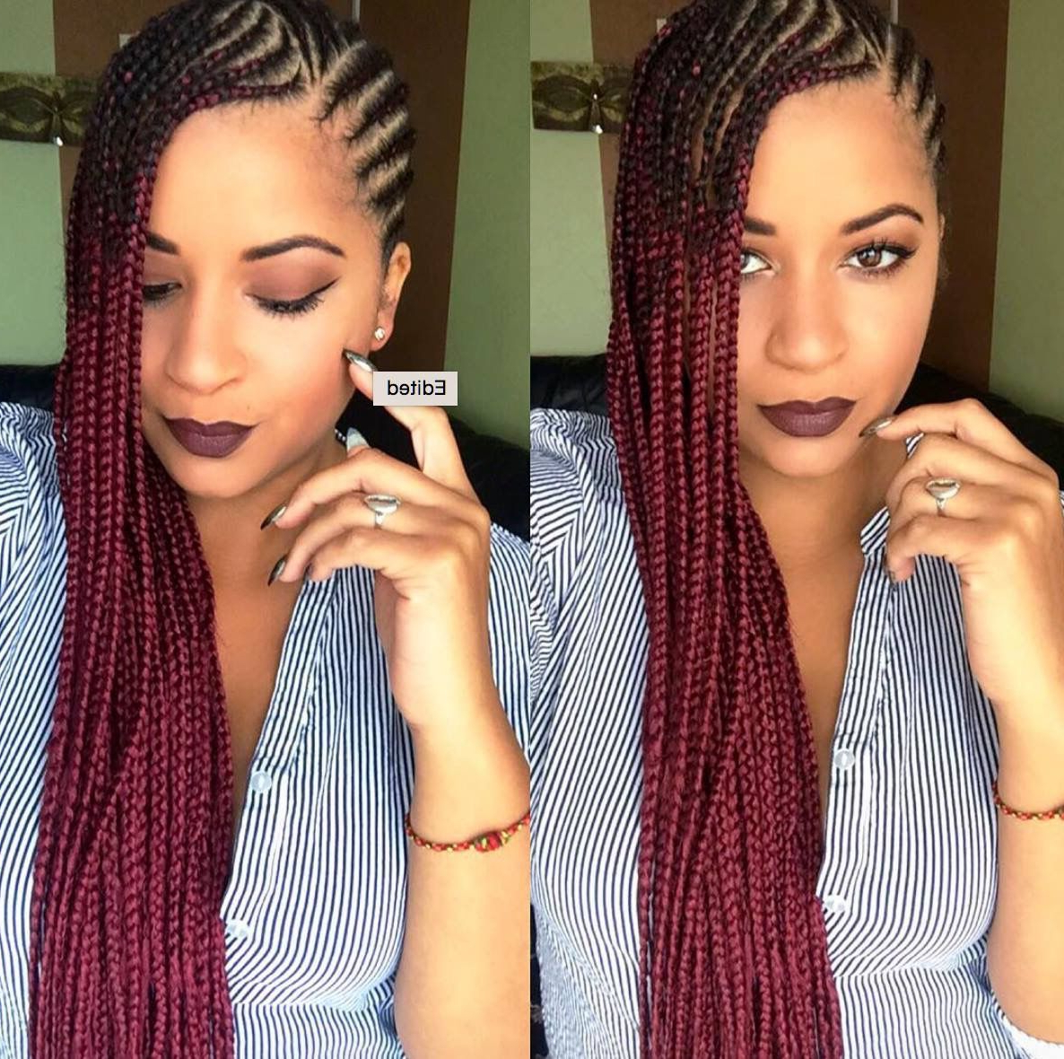 We Love These Sideswept Braids! … (Gallery 2 of 20)