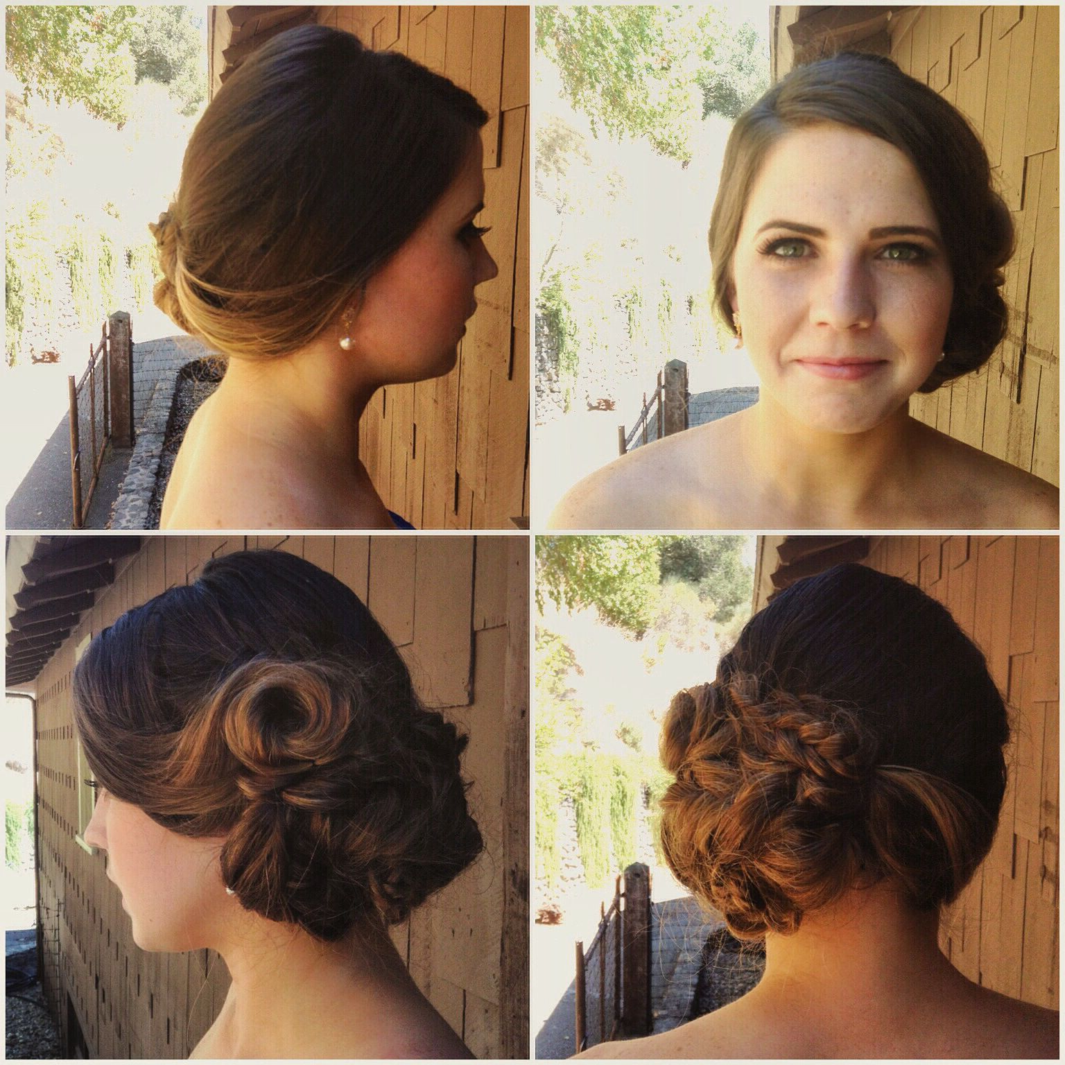 Wedding #hair #updo (View 17 of 20)