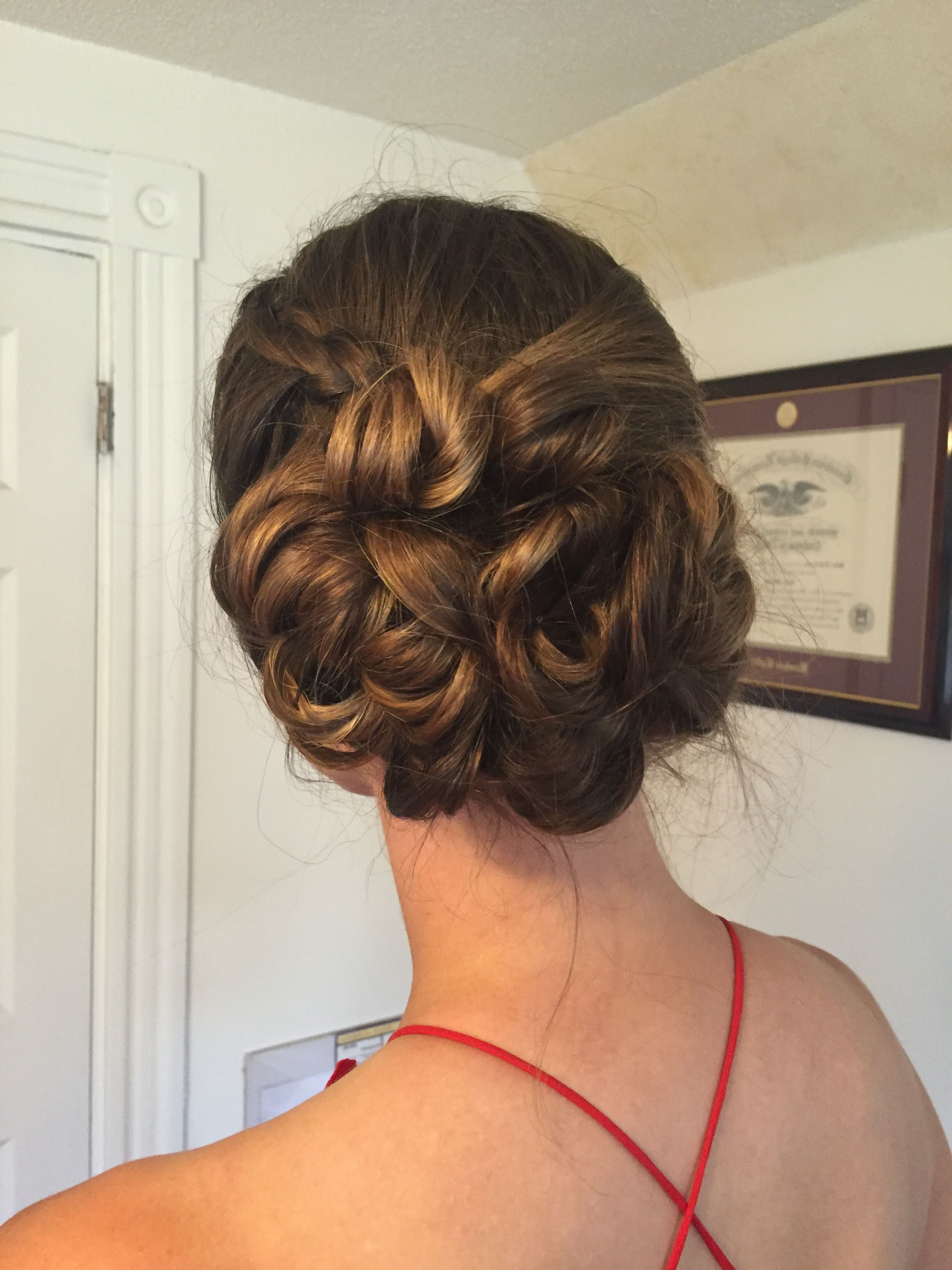 Well Known Braided Chignon Bun Hairstyles In Hairstyles : Chic Braided Chignon Fab Low Side Bun Updo For (Gallery 5 of 20)