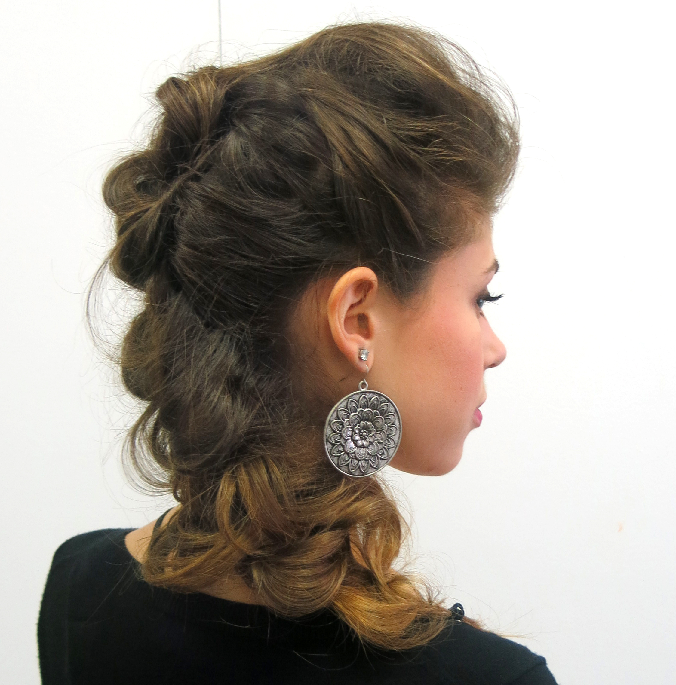 Well Known Braids And Bouffant Hairstyles With Julien Farel (View 3 of 20)