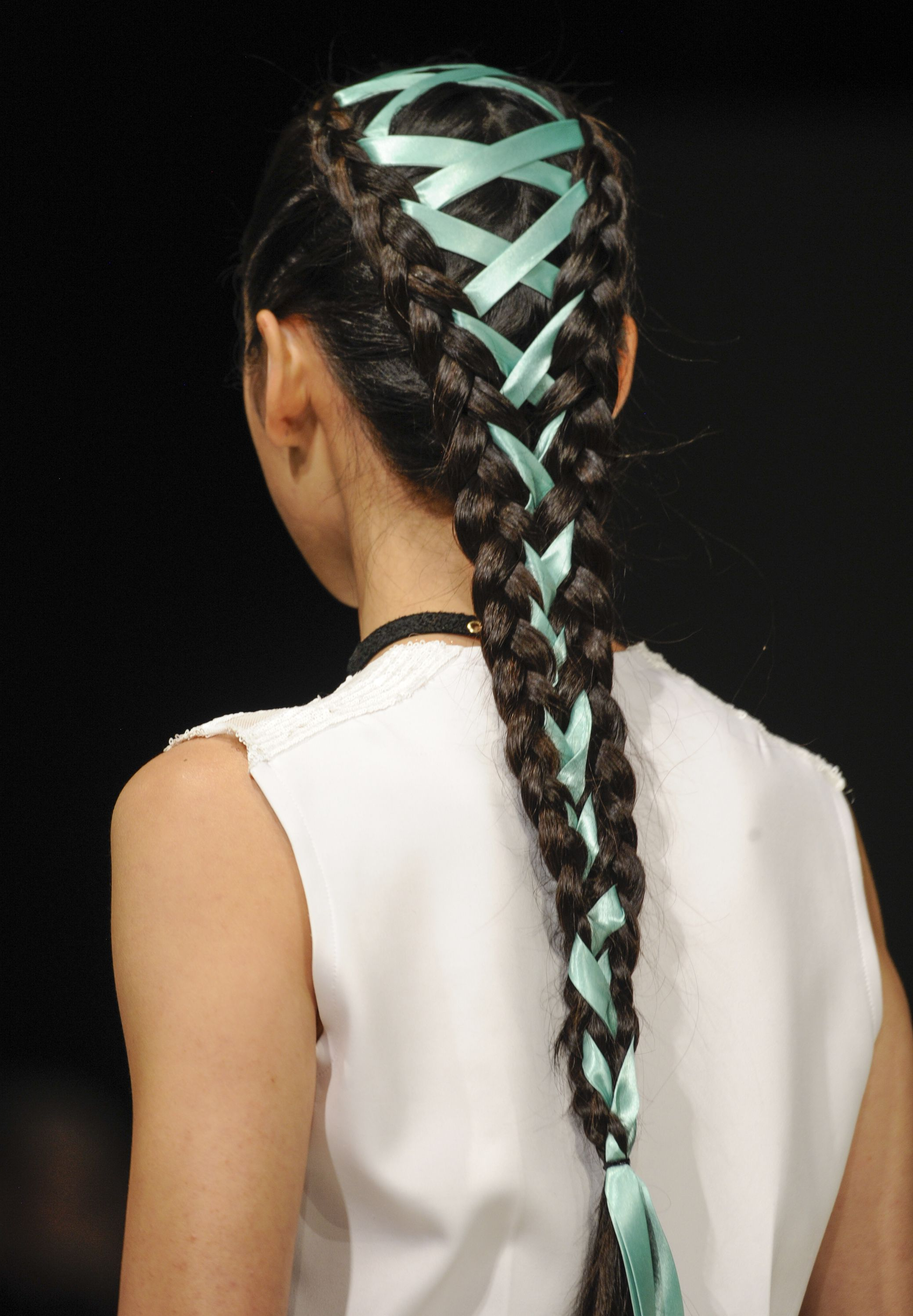 Well Known Corset Braided Hairstyles Pertaining To Corset Braids: The New Way To Tie Up Your Hair (View 16 of 20)