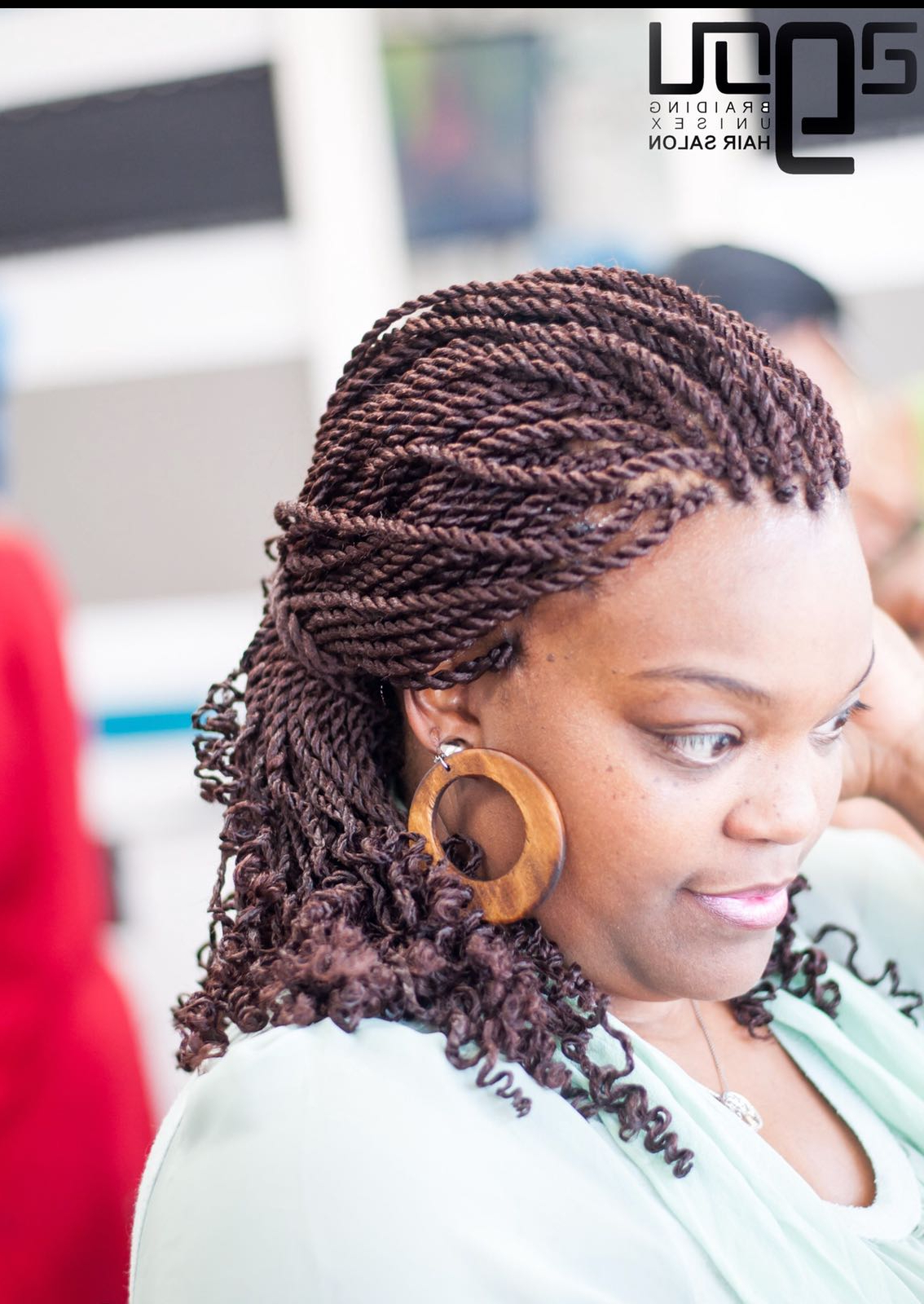 Well Known Crochet Mohawk Twists Micro Braid Hairstyles Pertaining To African Hair Braiding And Weaving In Charlotte (Gallery 10 of 20)