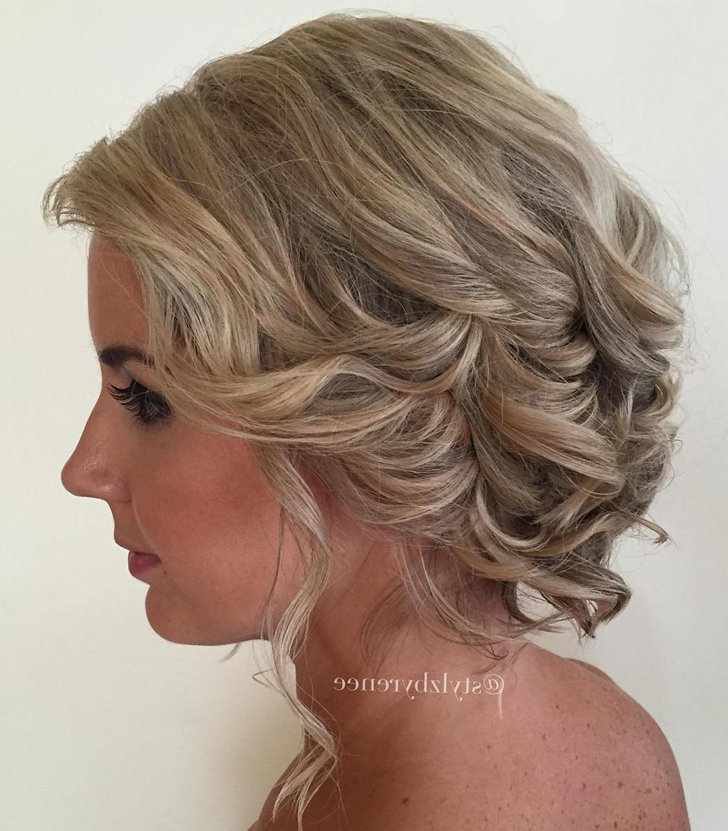 Well Known Curled Updo Hairstyles Intended For Trendy Updos For Short Hair: From Casual To Special Occasions (Gallery 19 of 20)