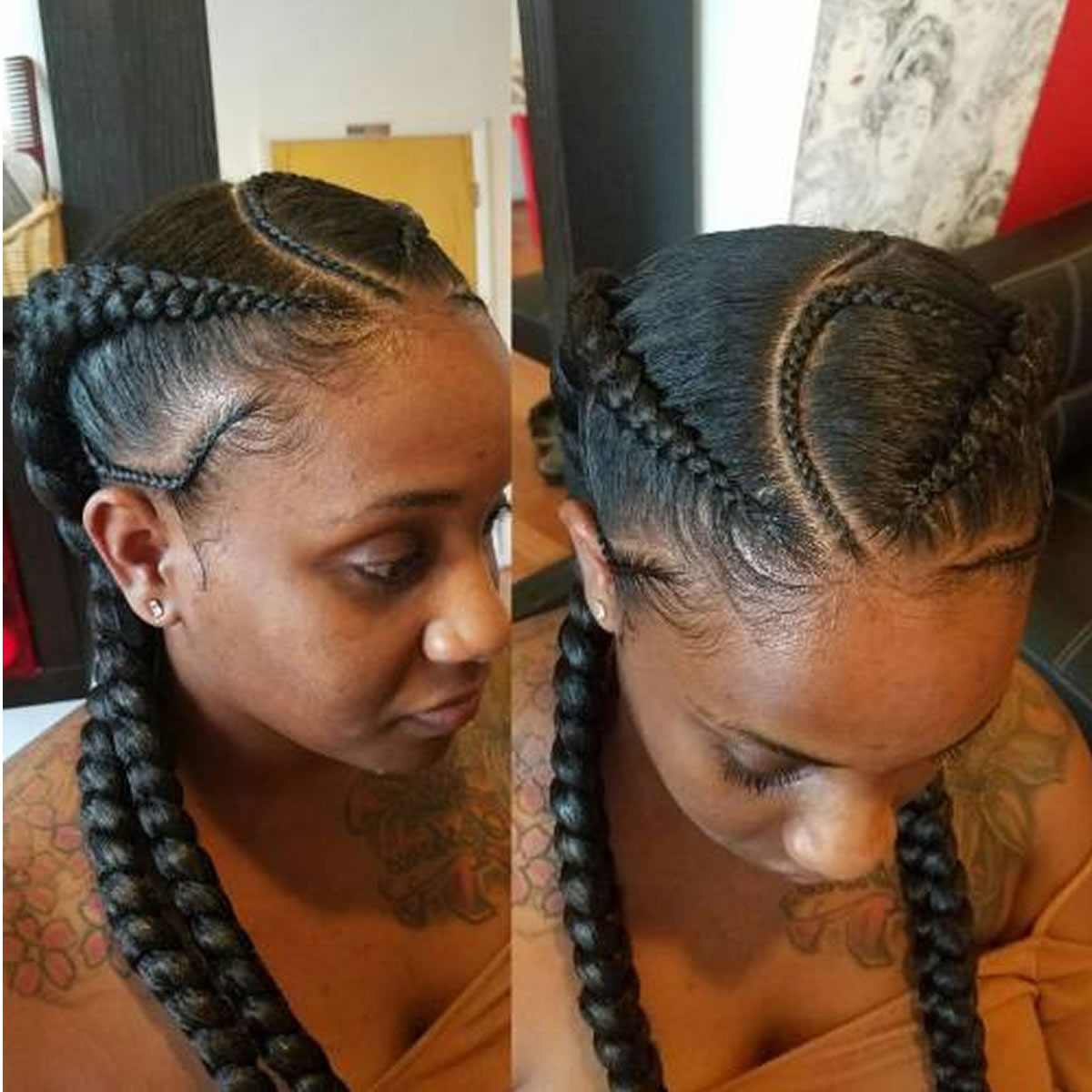 Well Known Curvy Braid Hairstyles And Long Tails Pertaining To Curvy Braids And Long Tails – Hairstyles (Gallery 1 of 20)