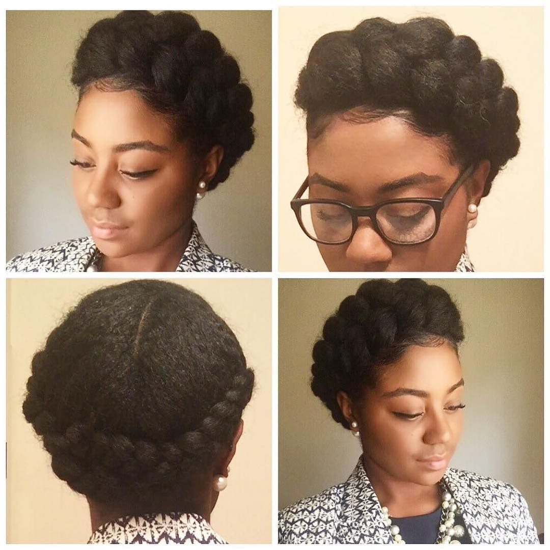 Well Known Faux Halo Braided Hairstyles For Short Hair With Regard To 15 Gorgeous Protective Hairstyles Featuring Coily Hair (View 11 of 20)