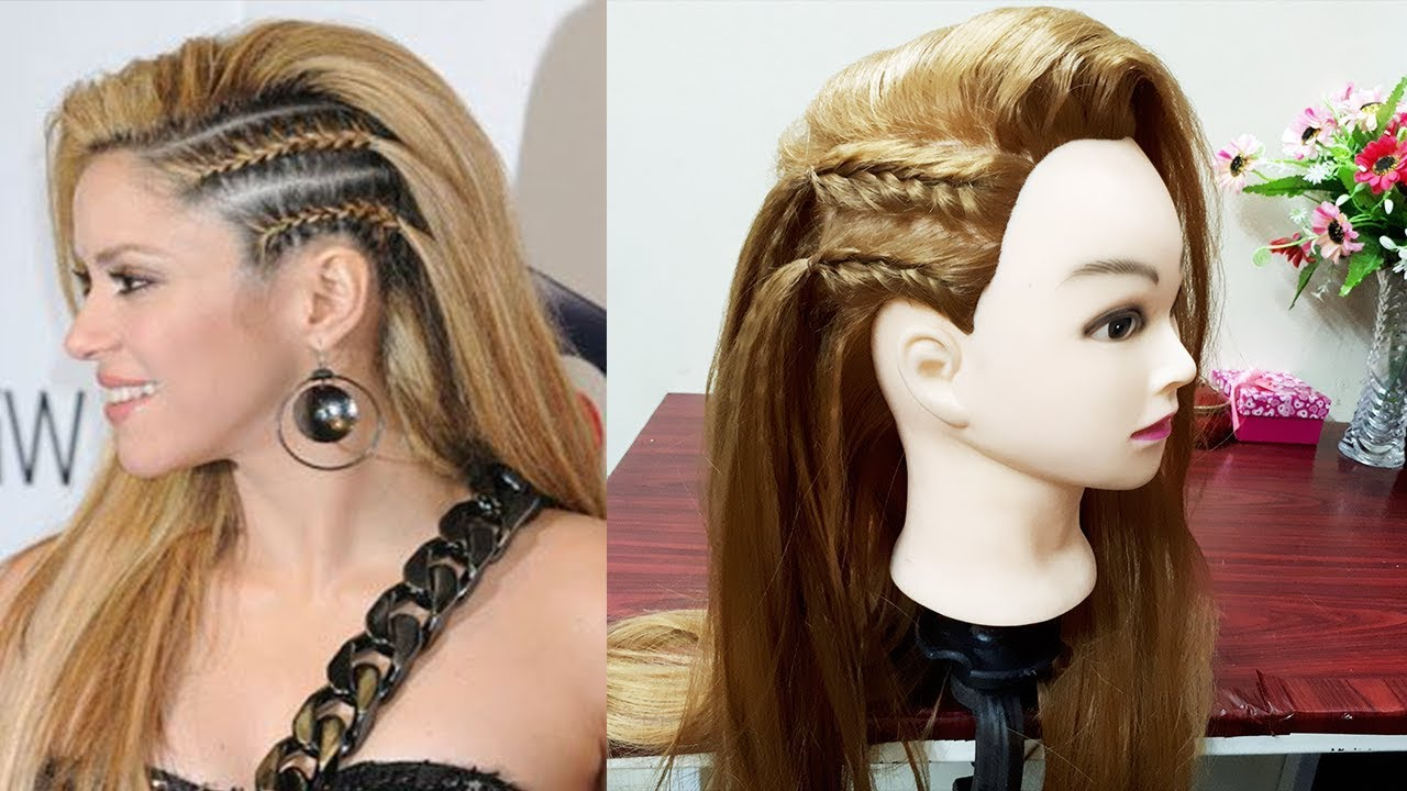 Well Known Faux Undercut Braided Hairstyles With Regard To Undercut Style Side Braids For Girls / Faux Side Shave: Fake It ♡ Hair Tutorial (Gallery 7 of 20)
