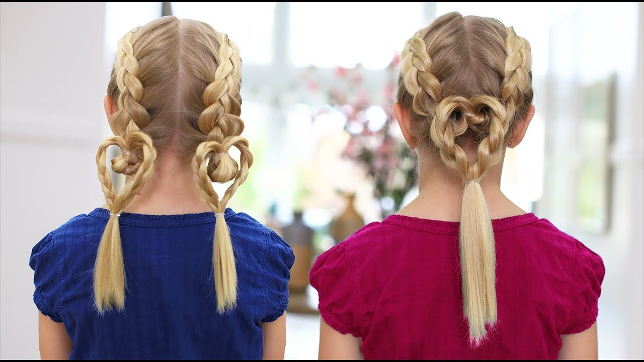 Well Known Heart Shaped Fishtail Under Braid Hairstyles Inside Dutch Heart Braids 2 In  (View 20 of 20)