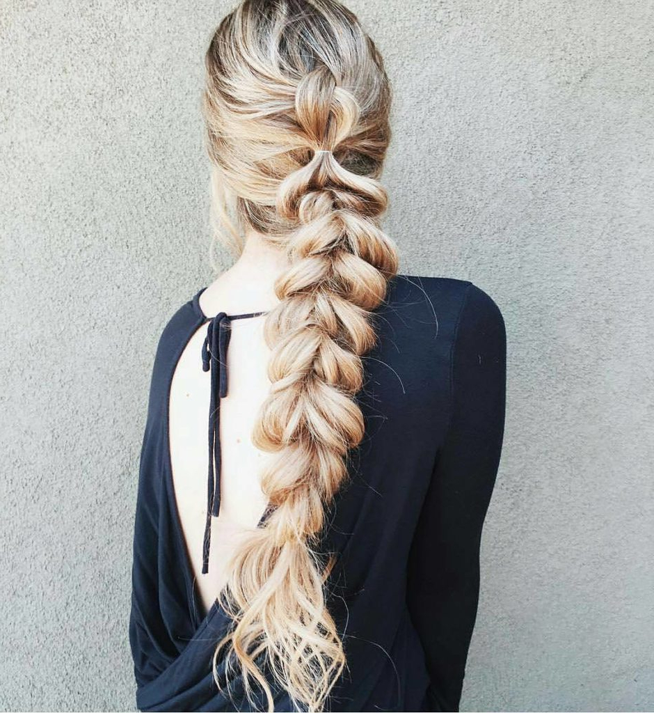 Well Known Long Blonde Braid Hairstyles Throughout Braided Hairstyles For Summer – Gazzed (View 7 of 20)