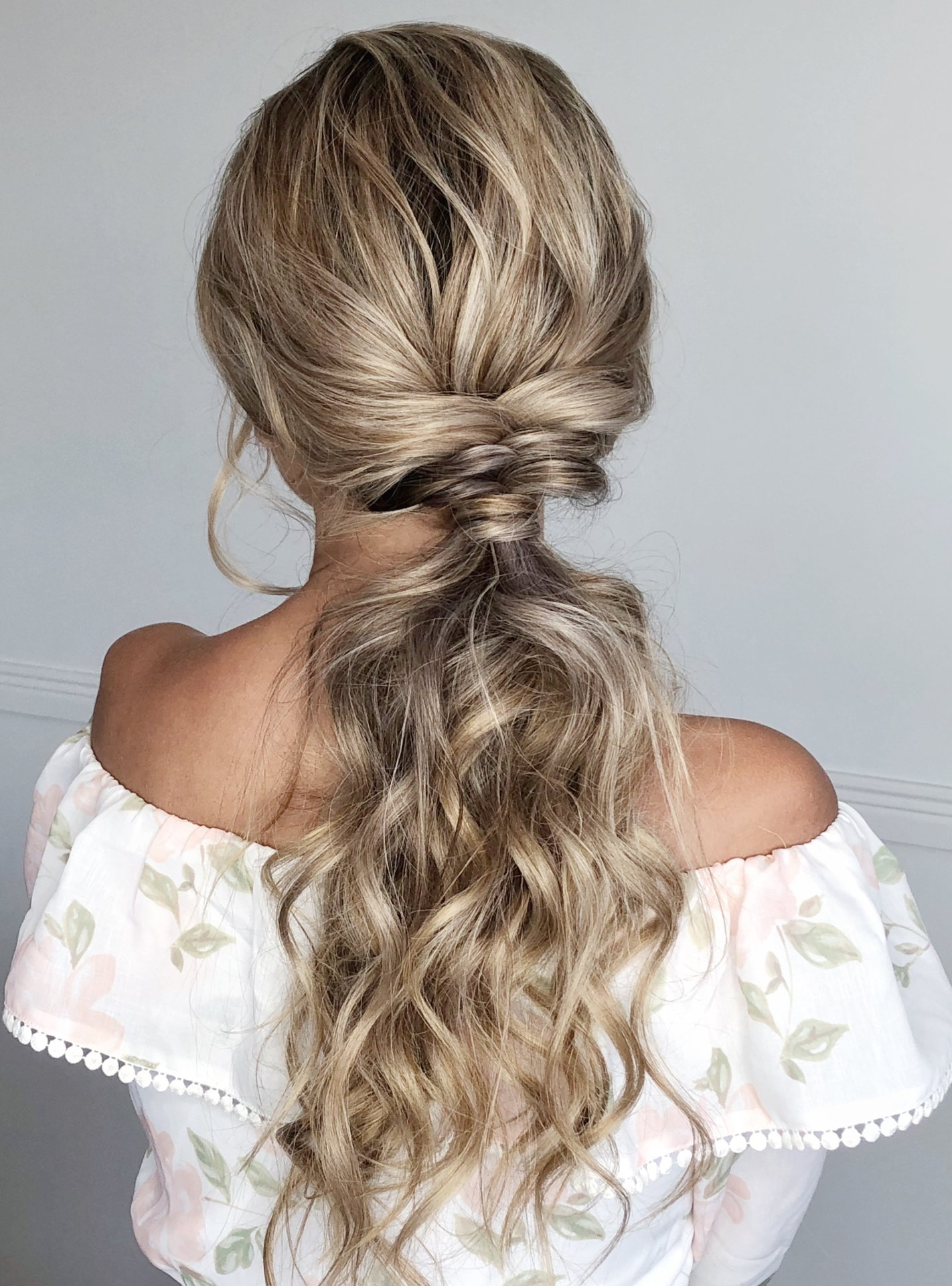 Well Known Mermaid Fishtail Hairstyles With Hair Flowers With Regard To 12 Stunning Beach Boho Hairstyles For Your Big Day (View 11 of 20)