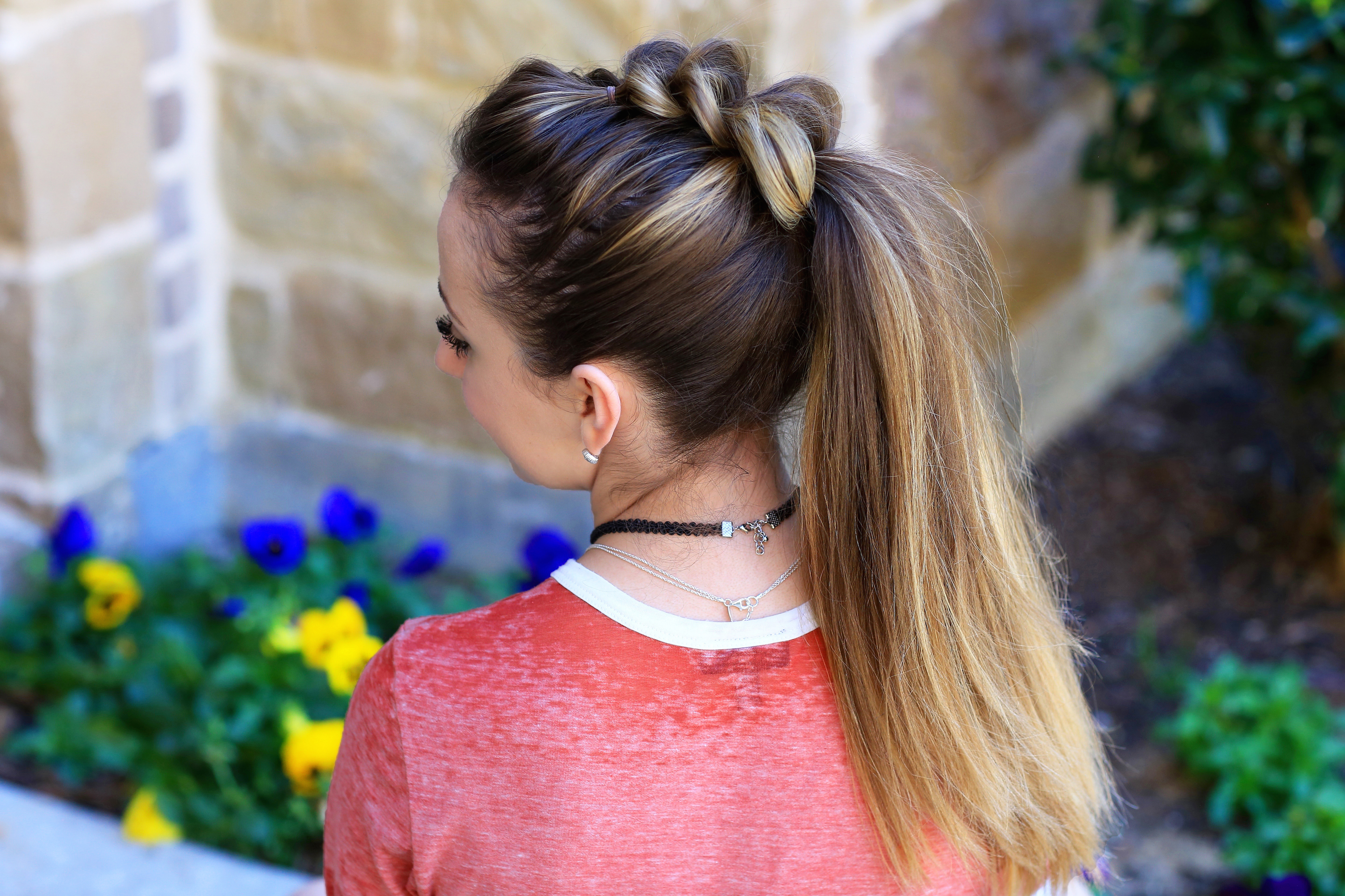 Well Known Pull Through Ponytail Updo Hairstyles With Regard To Pull Thru Ponytail (Gallery 10 of 20)