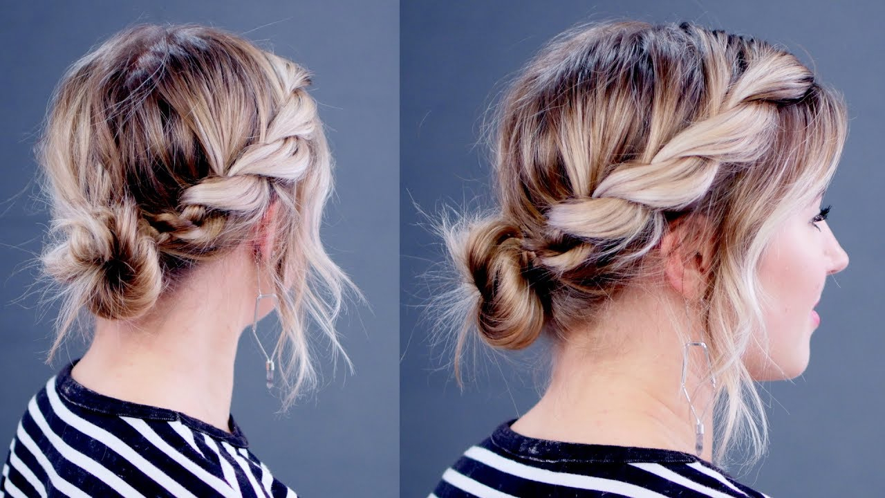 Well Known Rope Twist Updo Hairstyles With Accessories Throughout Hairstyle Of The Day: Super Simple Twisted Rope Updo (View 2 of 20)