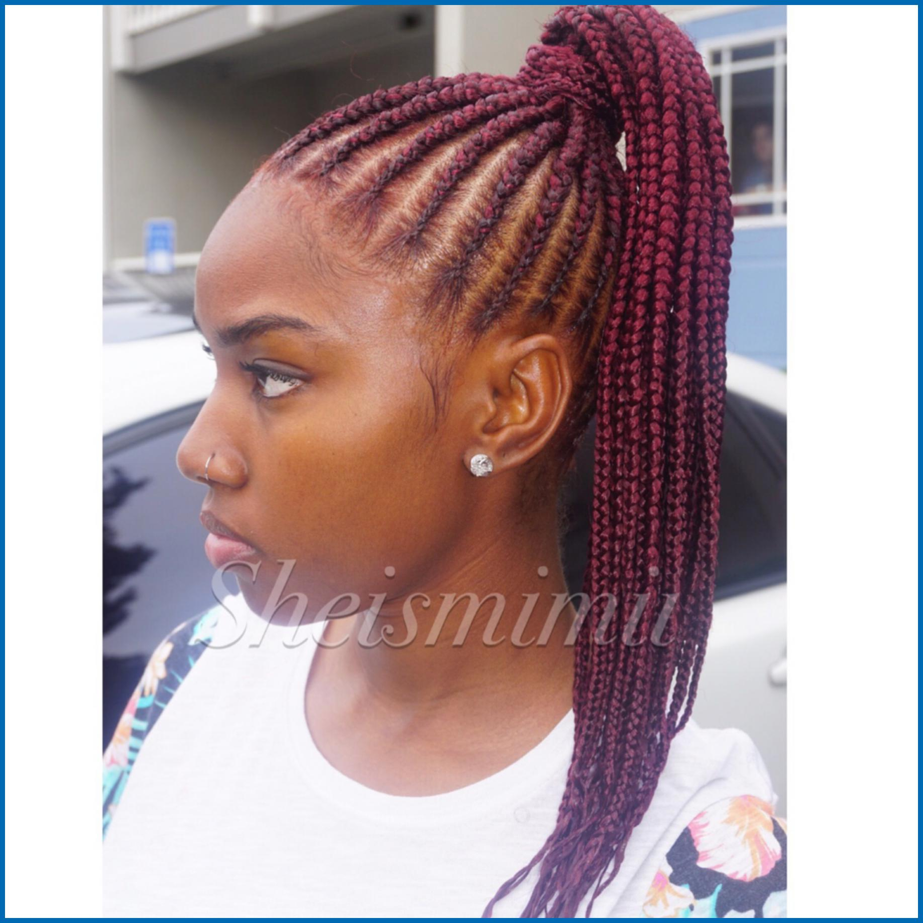 Well Known Side Cornrows Braided Hairstyles With Women Hairstyle : Creative Cornrows Braids Style Pinterest (Gallery 7 of 20)