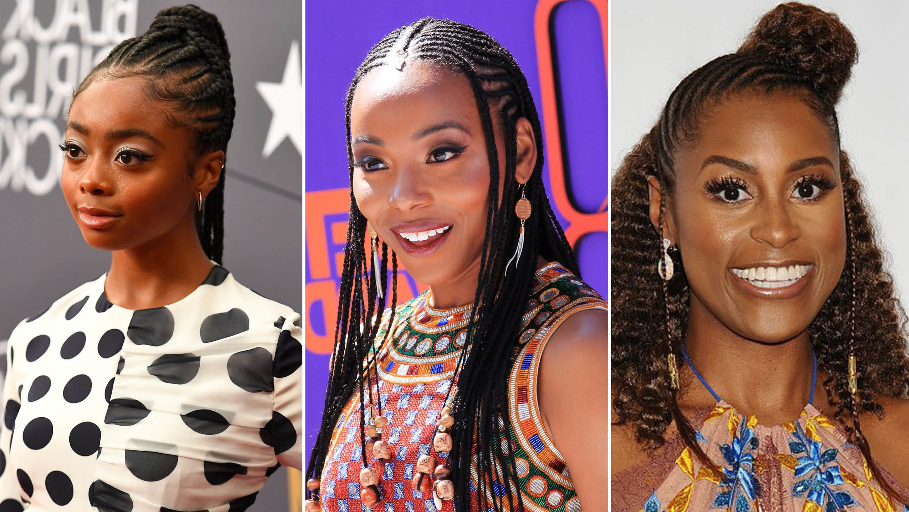 Well Known Thick Cornrows Bun Hairstyles Inside 31 Best Black Braided Hairstyles To Try In  (View 18 of 20)