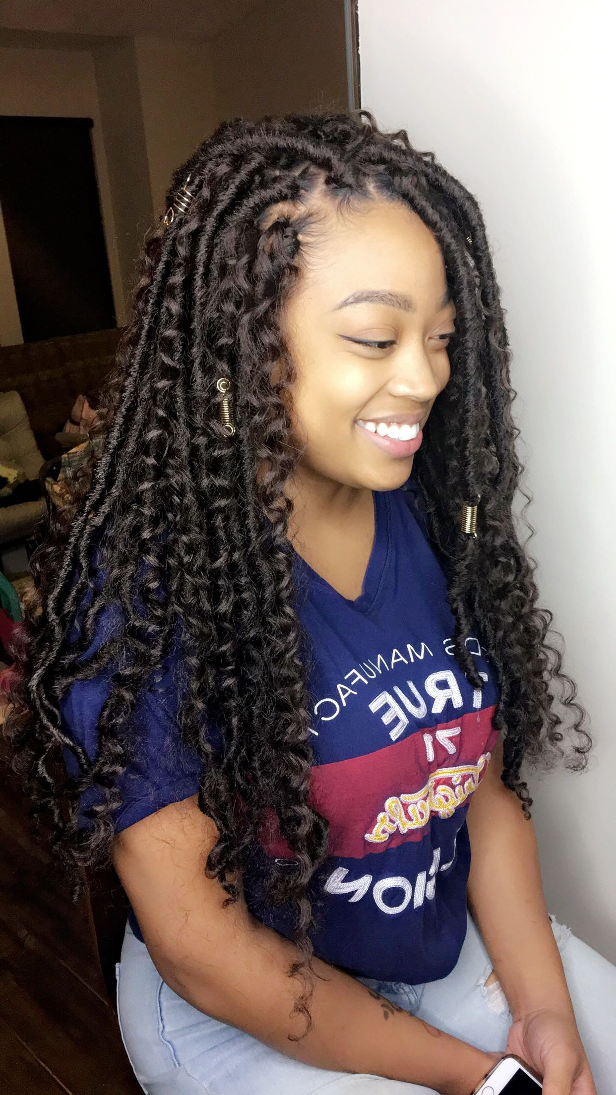 Well Known Tree Micro Braid Hairstyles Intended For Hairstyles : Crochet Hairstyles Charming Tree Braids Micro (Gallery 6 of 20)