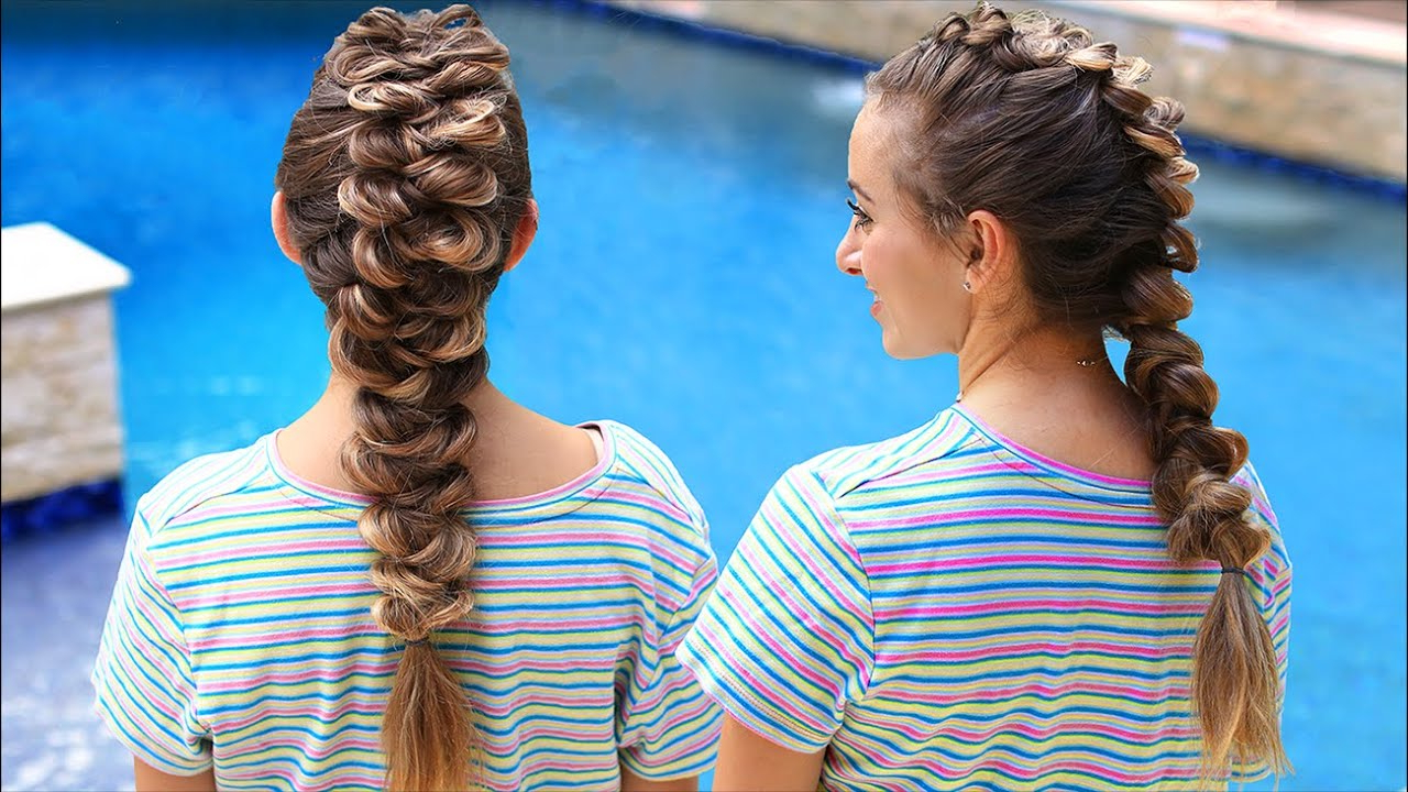 Well Liked Braided And Wrapped Hairstyles Inside How To Create A French Wrap Braid (Ft Brooklyn From Brooklynandbailey) (View 7 of 20)