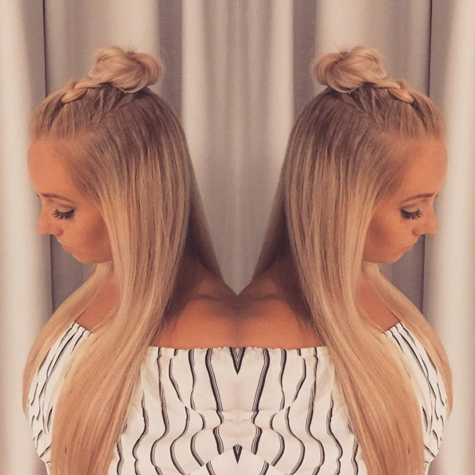 Well Liked Braided Top Knot Hairstyles With Regard To 60 Easy And Quick Top Knot Hairstyles To Sport The Celebrity (Gallery 18 of 20)