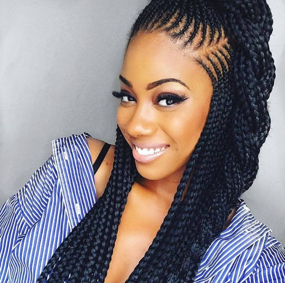Well Liked Cornrow Fishtail Side Braided Hairstyles Intended For 40 Braid Styles For Women (View 15 of 20)