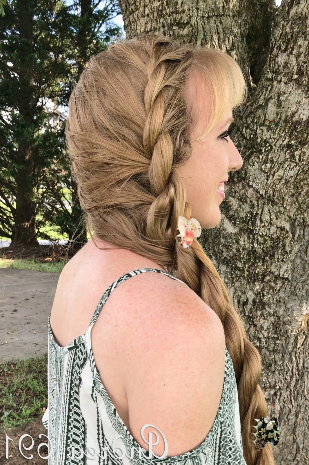Well Liked Double Rapunzel Side Rope Braid Hairstyles Inside Braids & Hairstyles For Super Long Hair: Side Rope Braid (View 4 of 20)