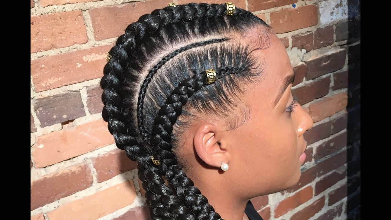 [%well Liked Extravagant Under Braid Hairstyles Intended For 55 Hottest Feed In Braids – Cornrow Styles To Obsess Over [2019]|55 Hottest Feed In Braids – Cornrow Styles To Obsess Over [2019] Regarding Recent Extravagant Under Braid Hairstyles%] (View 18 of 20)