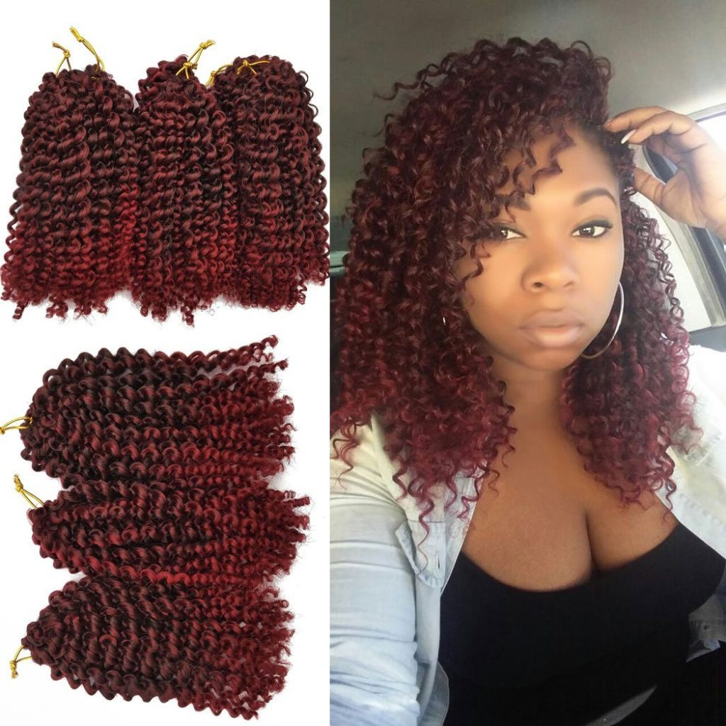 Well Liked Individual Micro Braids With Curly Ends Within 10 Crochet Curly Braid Hair Styles (View 18 of 20)
