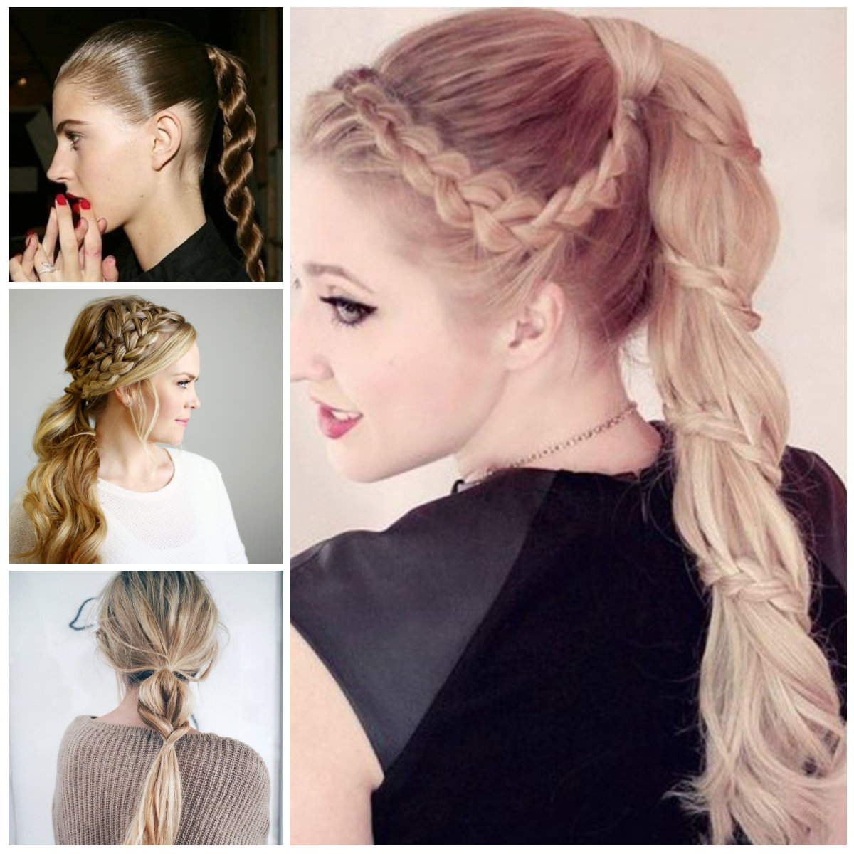 Well Liked Intricate Rope Braid Ponytail Hairstyles In Braided Ponytail Hairstyles For  (View 20 of 20)