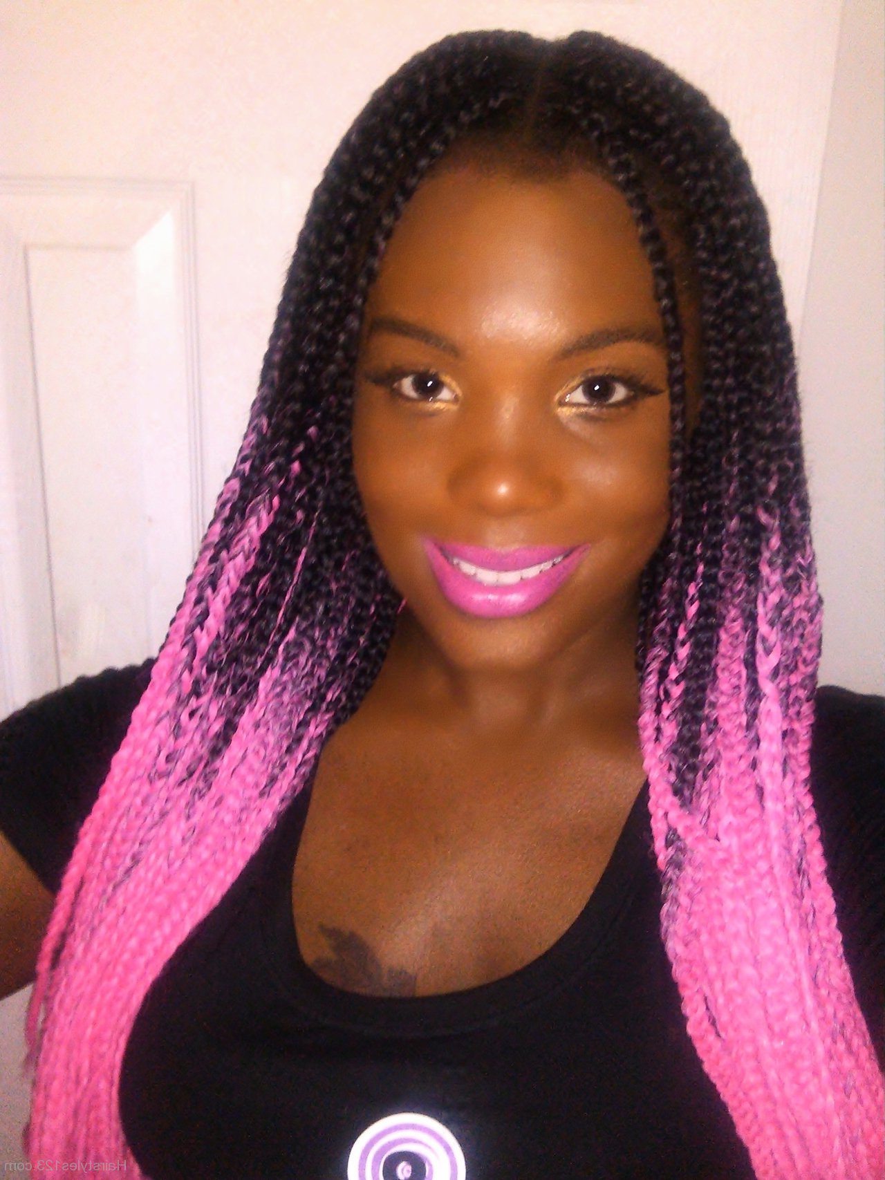 Well Liked Layered Micro Box Braid Hairstyles With Regard To Micro Braid Hairstyles – Page 5 (Gallery 19 of 20)