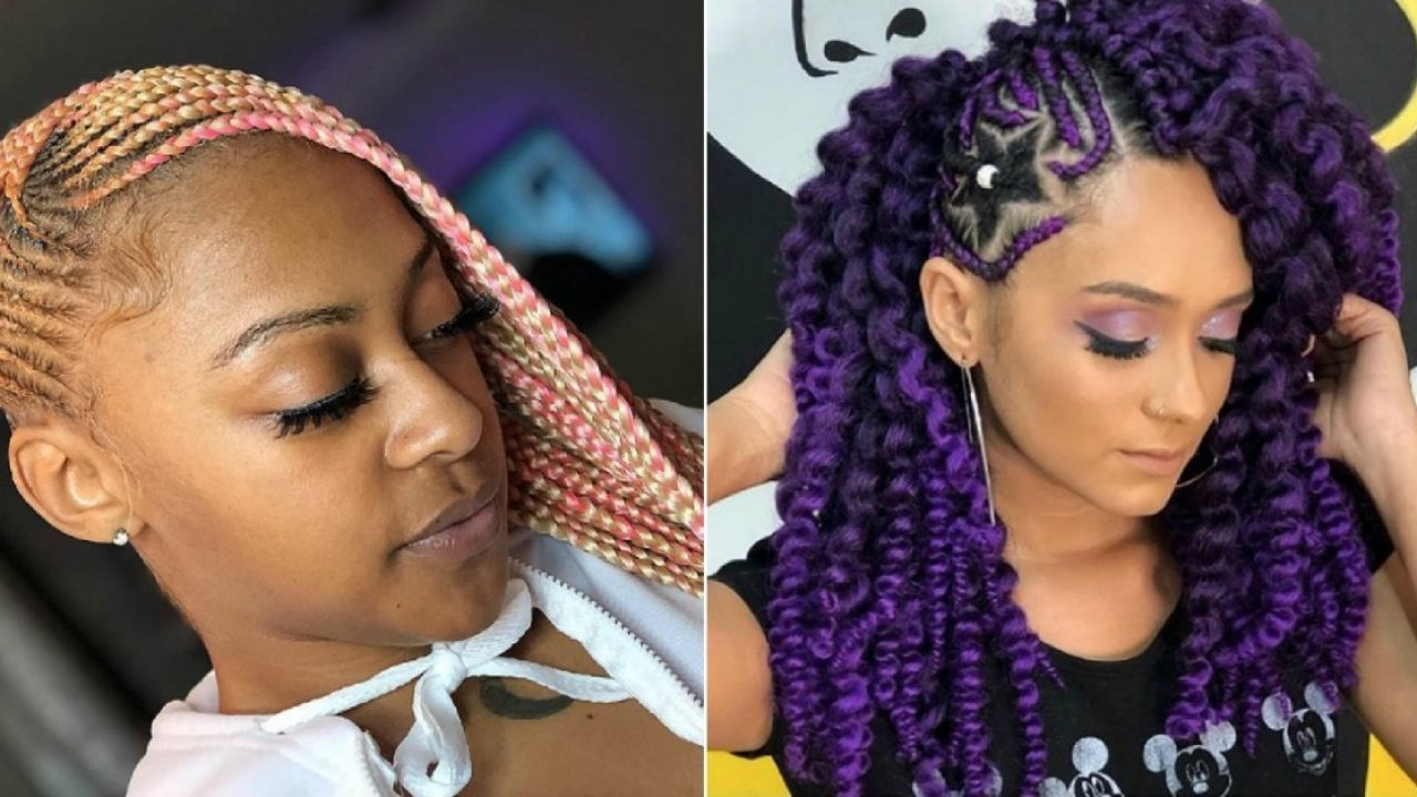 Well Liked Loose Braided Hairstyles With Turban Within 27 Lovely Lemonade Braids To Refresh Your Look – Wild About (View 16 of 20)