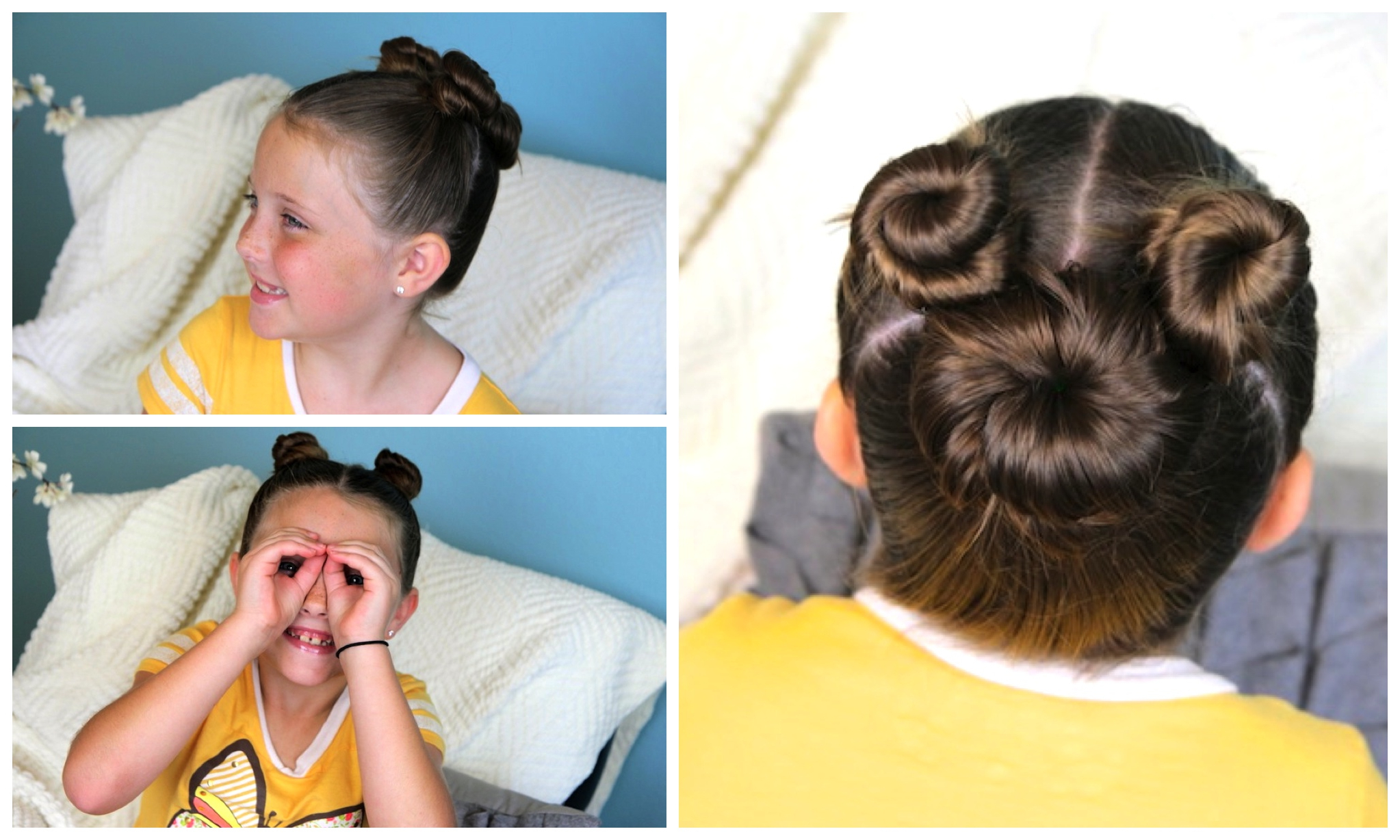 Well Liked Minnie Mouse Buns Braid Hairstyles Pertaining To Not So Hidden Mickey (View 11 of 20)