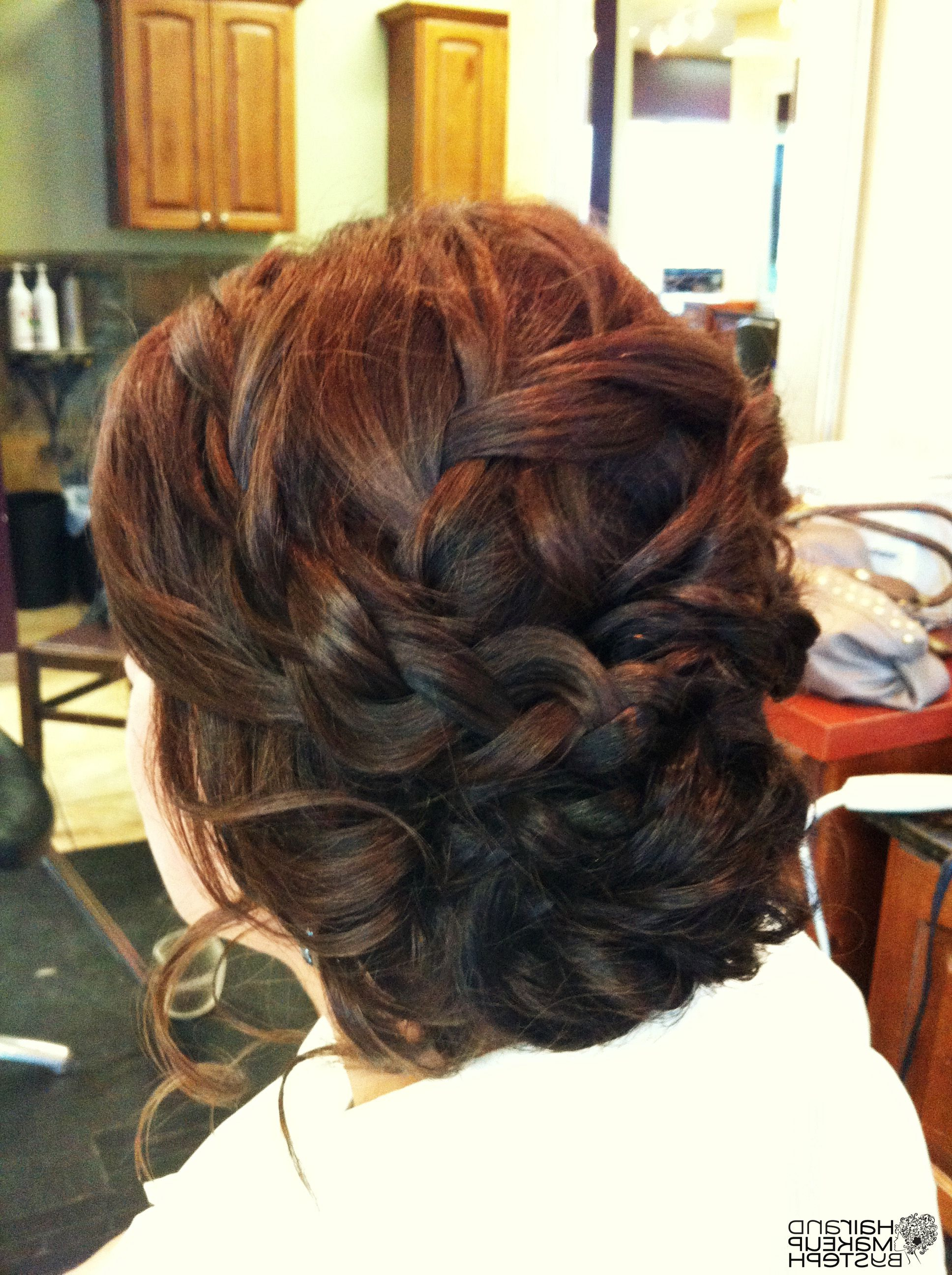Well Liked Multi Braid Updo Hairstyles With Regard To Hair And Make Upsteph (View 18 of 20)