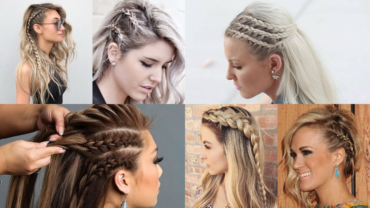 Well Liked One Side Braided Hairstyles Regarding 25 Effortless Side Braid Hairstyles To Rock This Season (Gallery 6 of 20)