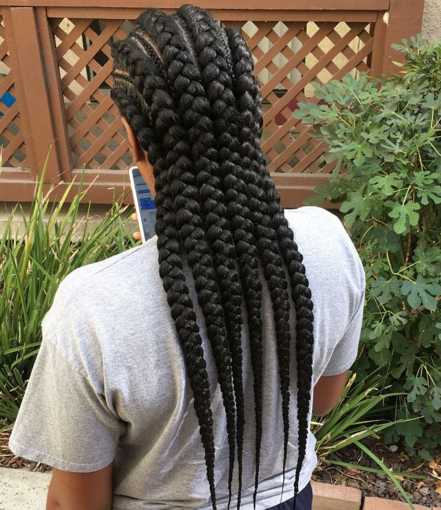Well Liked Thick And Thin Braided Hairstyles Within 70 Best Black Braided Hairstyles That Turn Heads In (View 6 of 20)