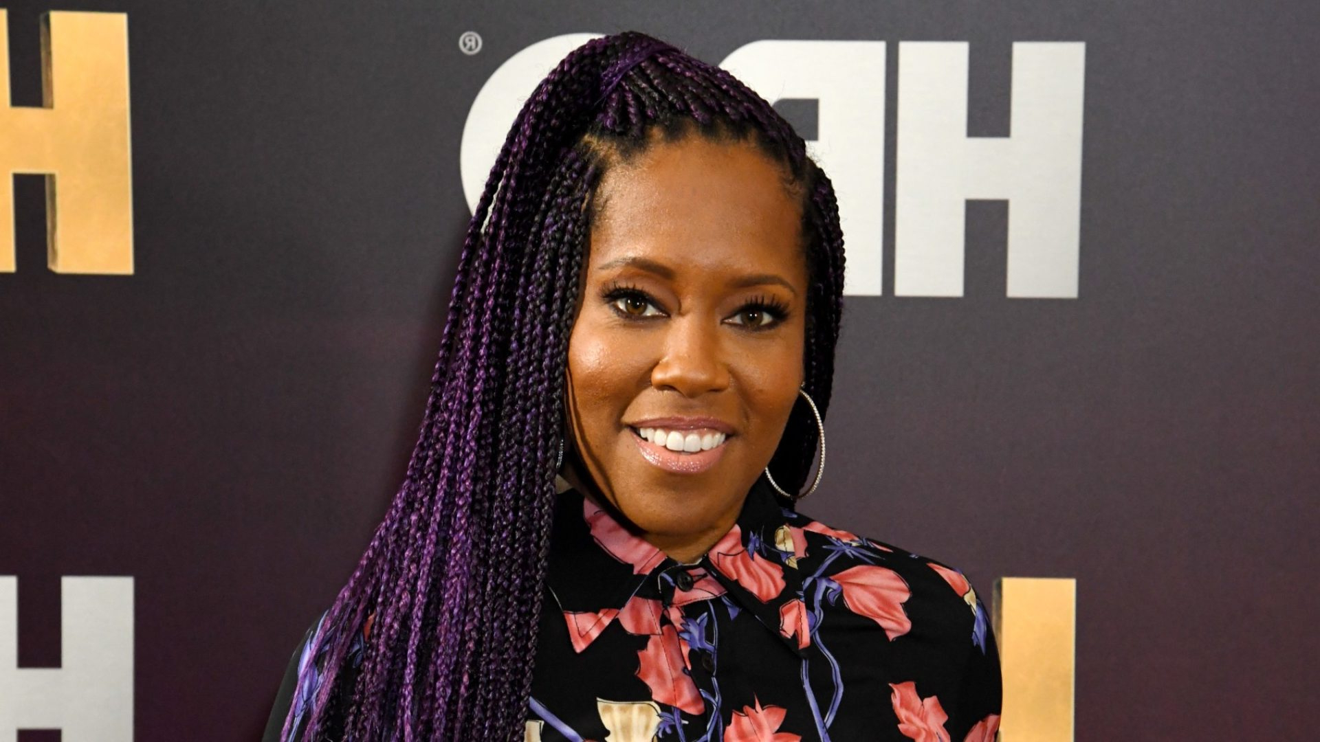 We're Loving Regina King's Box Braids Styles – Essence Inside Most Recently Released Side Pony And Raised Under Braid Hairstyles (View 16 of 20)