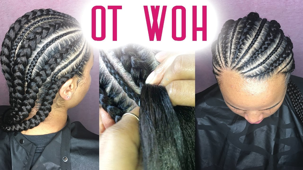 [%widely Used Angled Cornrows Hairstyles With Braided Parts Within 55 Hottest Feed In Braids – Cornrow Styles To Obsess Over [2019]|55 Hottest Feed In Braids – Cornrow Styles To Obsess Over [2019] Throughout 2020 Angled Cornrows Hairstyles With Braided Parts%] (View 12 of 20)