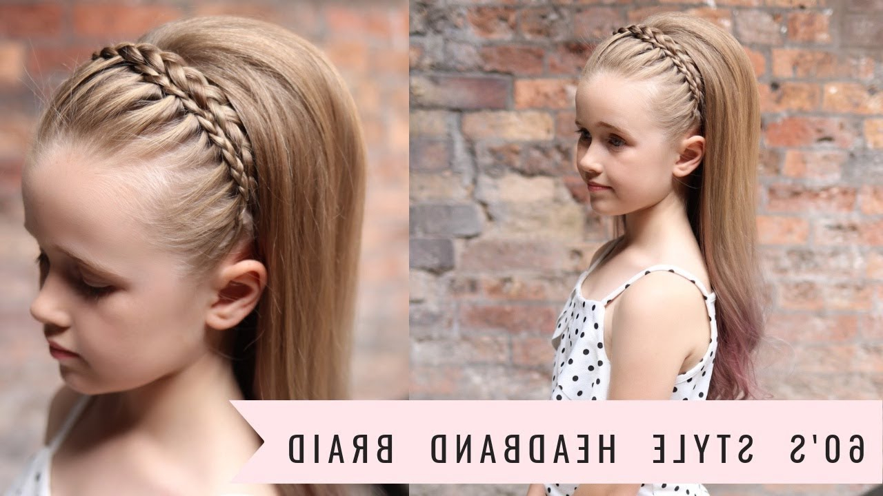 Widely Used Braid Hairstyles With Headband Inside Headband Braid (60's Style!!)Sweethearts Hair (View 20 of 20)