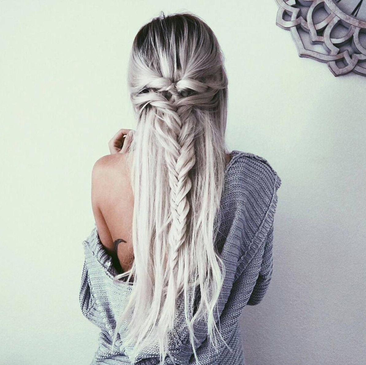 Widely Used Elegant Blonde Mermaid Braid Hairstyles With Twist Braid To Twist Fishtail Braid (View 20 of 20)